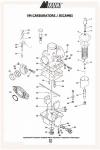 Ricambi per carburatori serie VM